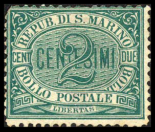 Postage stamps and postal history of San Marino