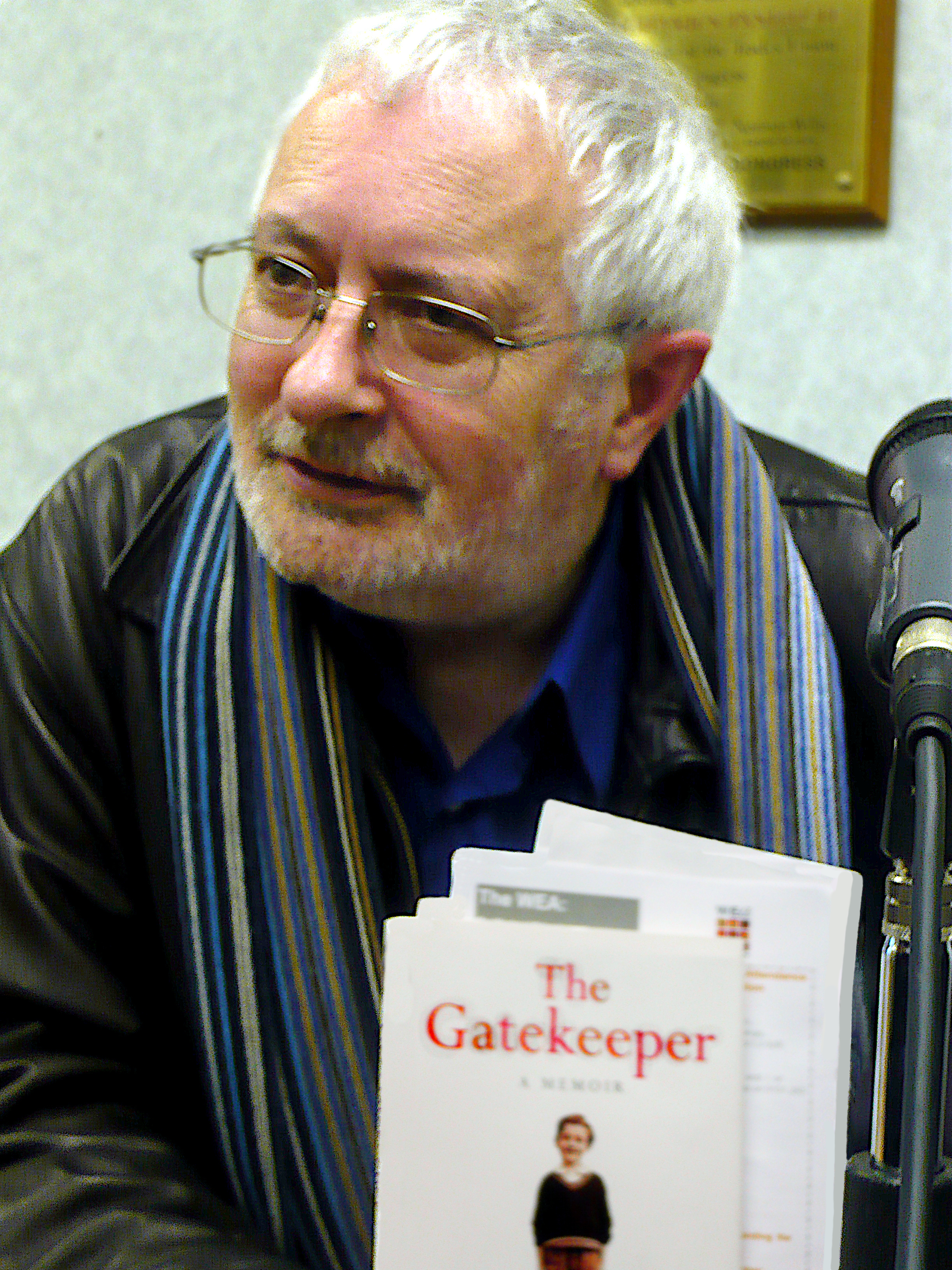 Portrait of Terry Eagleton