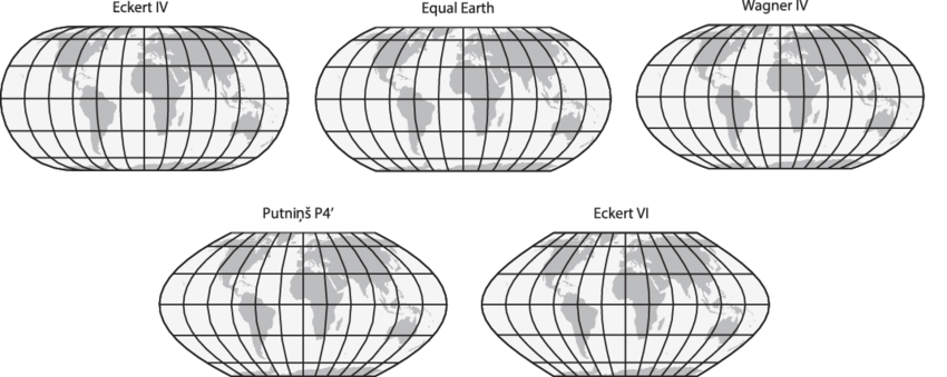 ファイル the equal earth compared to similar equal area