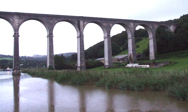 The Viaduct, Calstock - geograph.org.uk - 531588