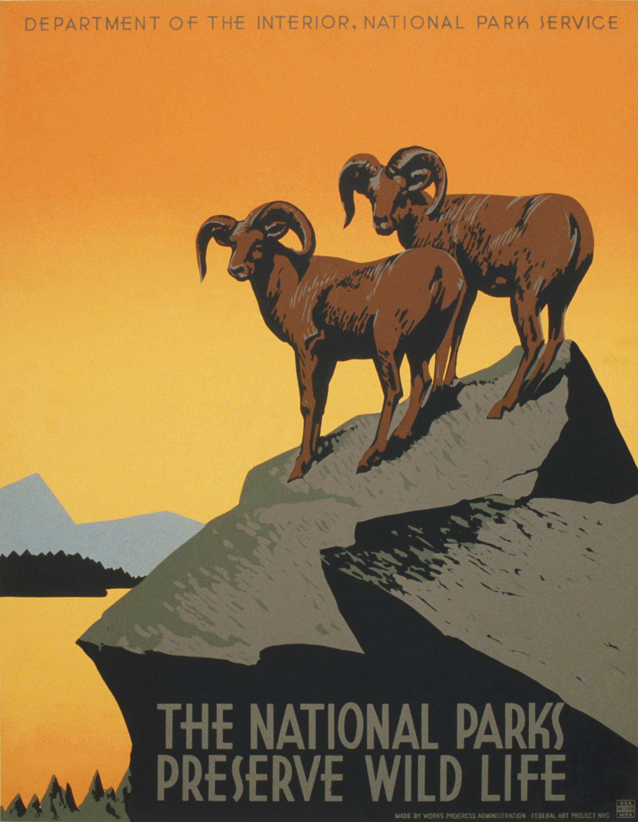 File The National Parks Preserve Wild Life Wpa Poster Ca Wikimedia Commons