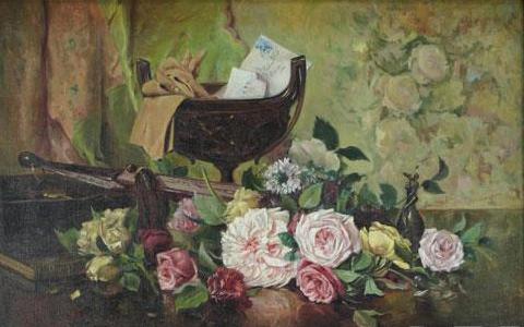 Theodor Aman, Natura moarta (1870)