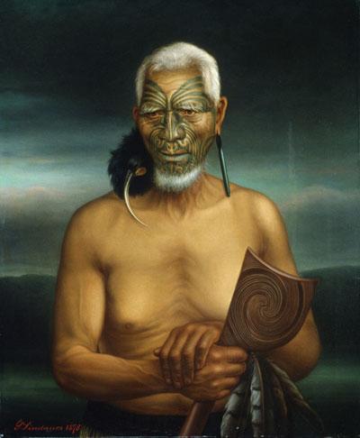 Tukukino by Lindauer (Wikicommons)