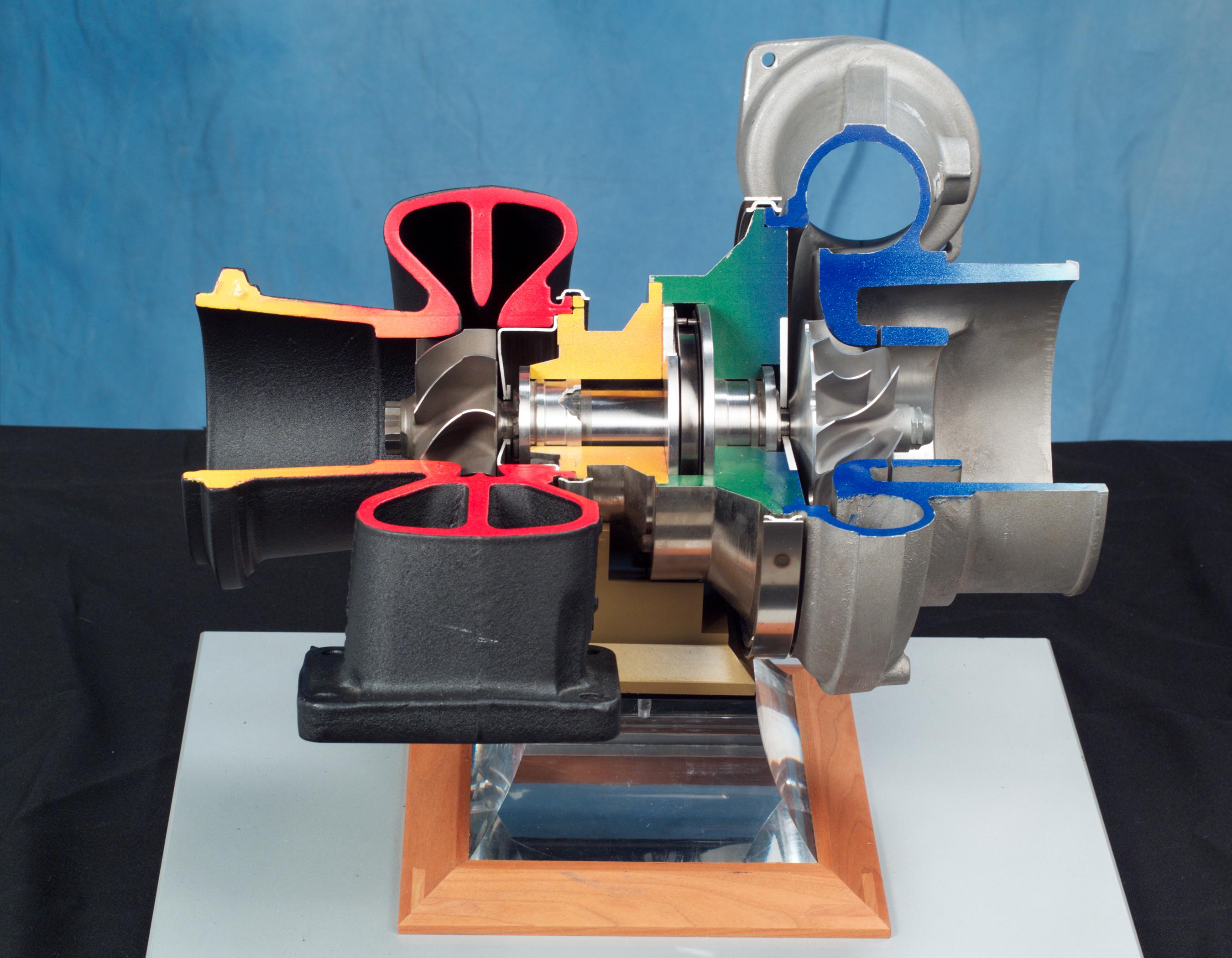 Depiction of Turbocompresor