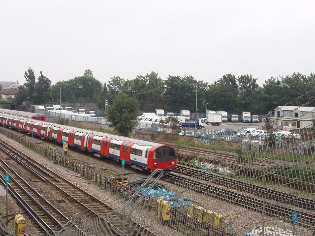 Underground trains near Neasden Station - geograph.org.uk - 62083