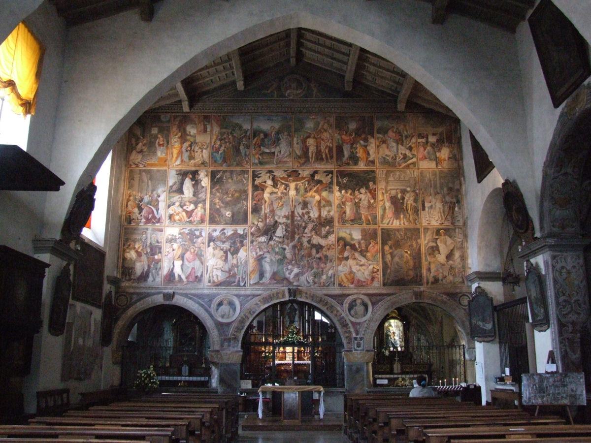 Chiesa di Santa Maria delle Grazie (Varallo) - Wikipedia