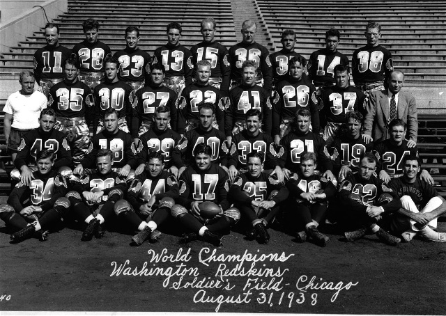World Champions Washington Redskins