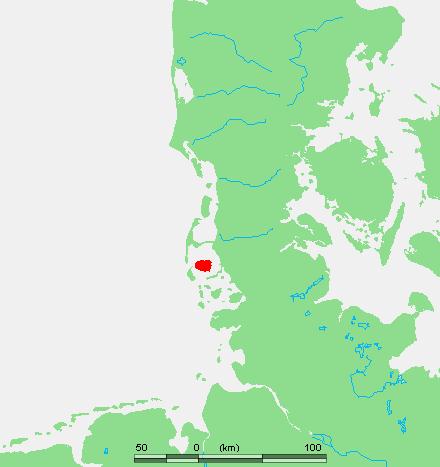Föhr locator map