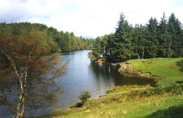 Western shore of The Tarns - geograph.org.uk - 630142