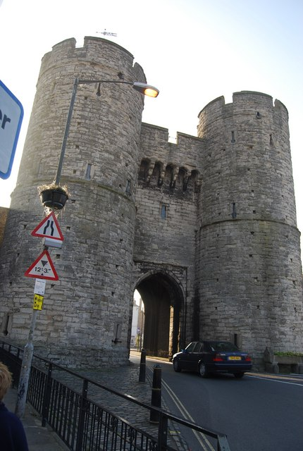 The Westgate is the largest surviving city gate in England. It survived a demolition attempt for a road-widening scheme in Victorian times.