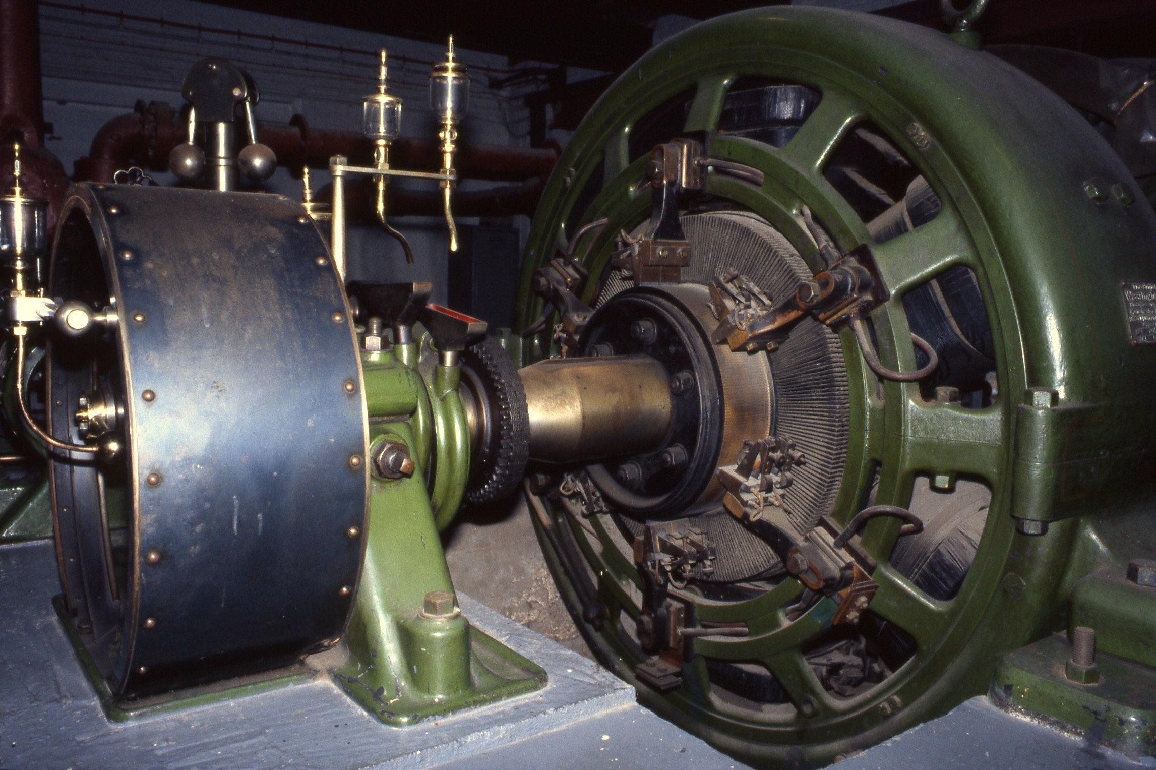 File Westinghouse DC generator 1907 driven by Ruston Proctor