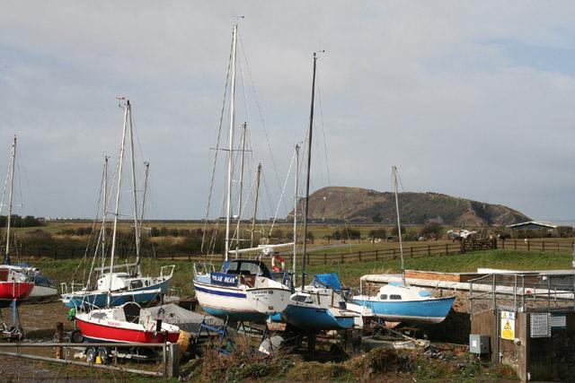 Weston-super-Mare, boatyard at Uphill - geograph.org.uk - 134704