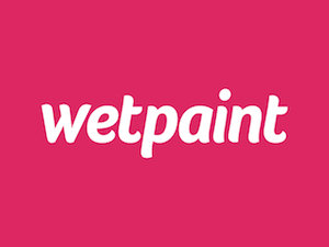 graphic regarding Printable Wet Paint Sign named Wetpaint - Wikipedia