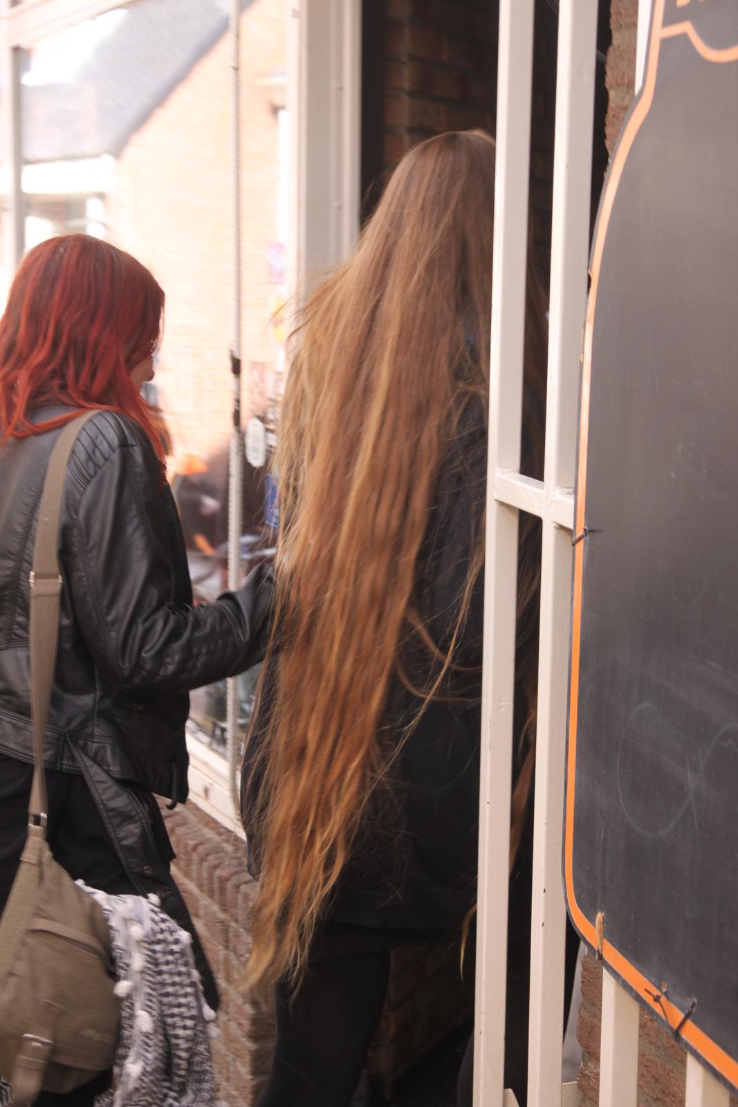 Very long hairstyles