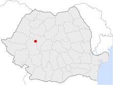 Vị trí của Zlatna