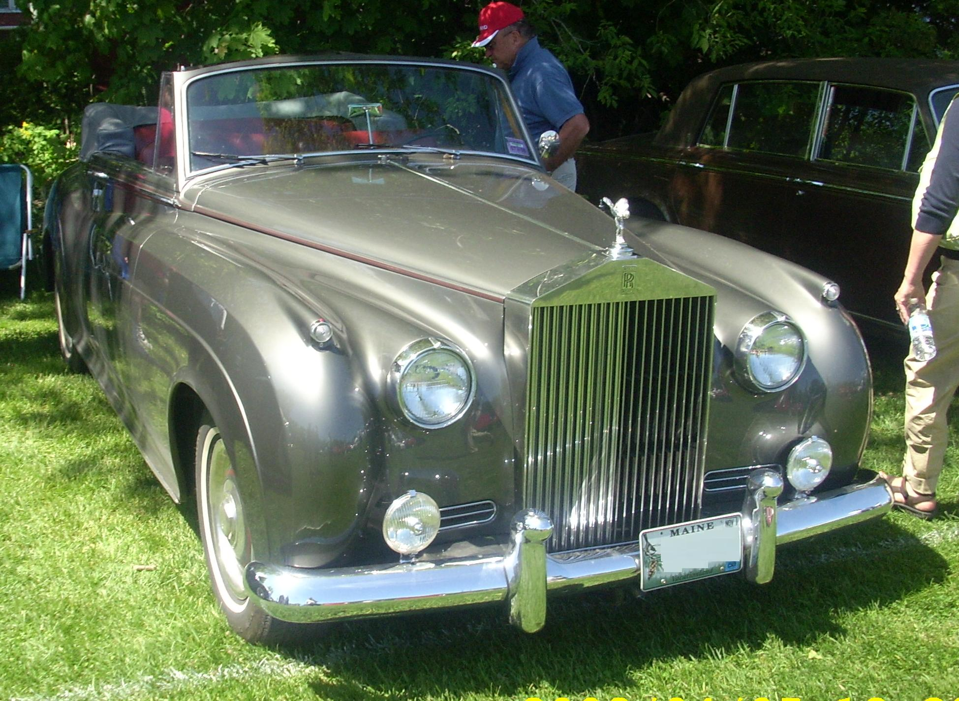 File:'61 Rolls-Royce Silver Cloud Convertible (Hudson).JPG ...