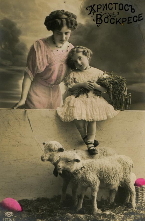 Život u Rusiji nekada davno 12._Old_Russian_Easter_Postcard