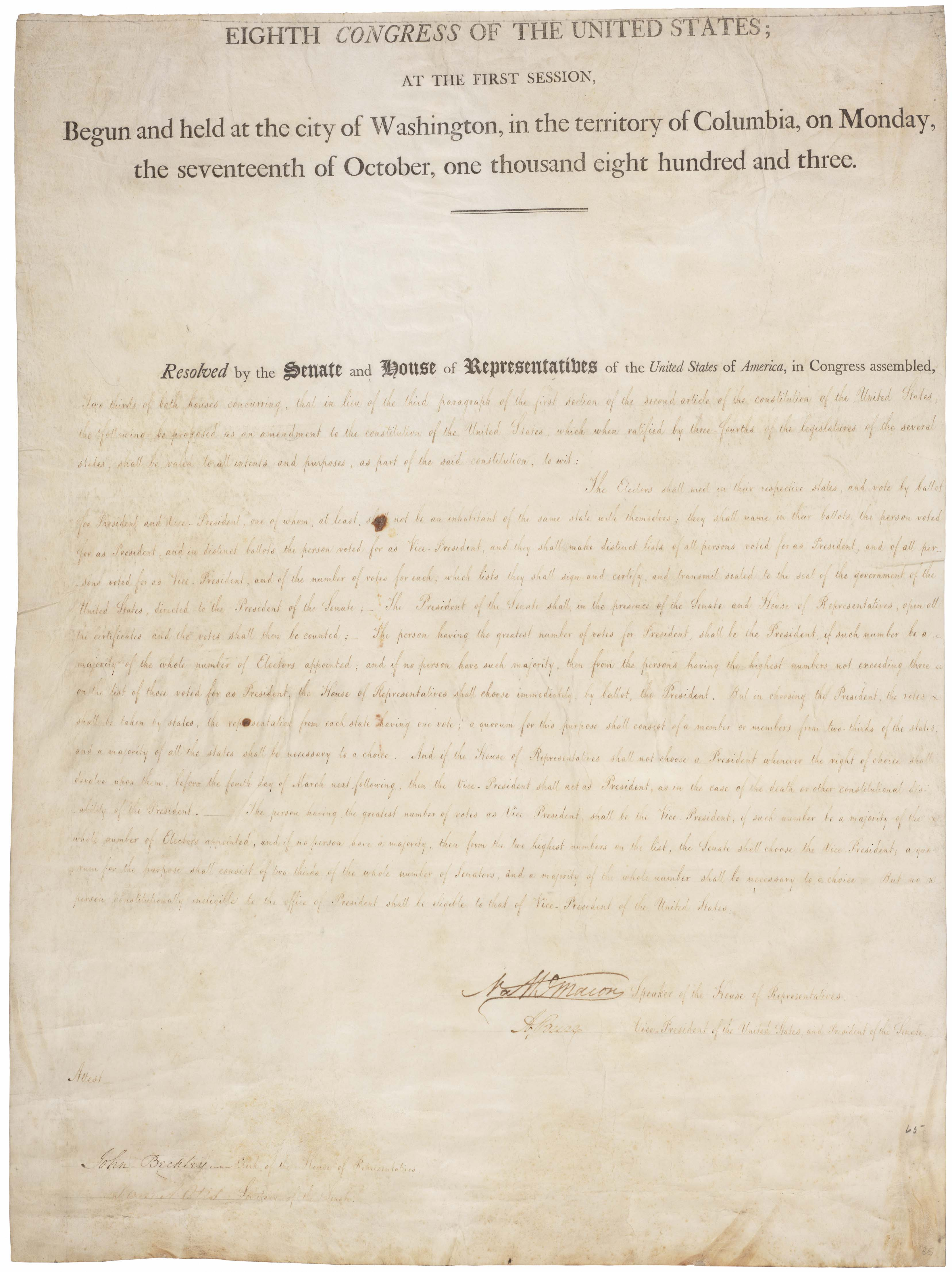 a history of the constitution in the united states Bill of rights of the united states of america (1791) download a pdf of the bill of rights the first 10 amendments to the constitution make up the bill of rights.