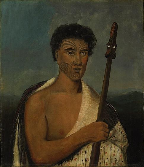 Портреты племени маори. Удивительные картины маслом 19 века