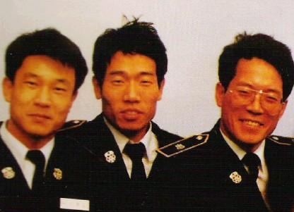 1992년 제7기 소방간부후보생 이흥교, 김성회, 우재봉