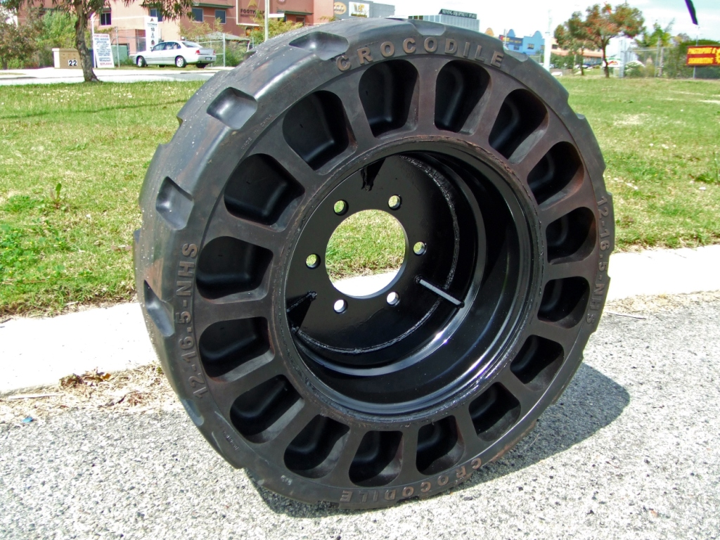 Space building tires and tire industry products