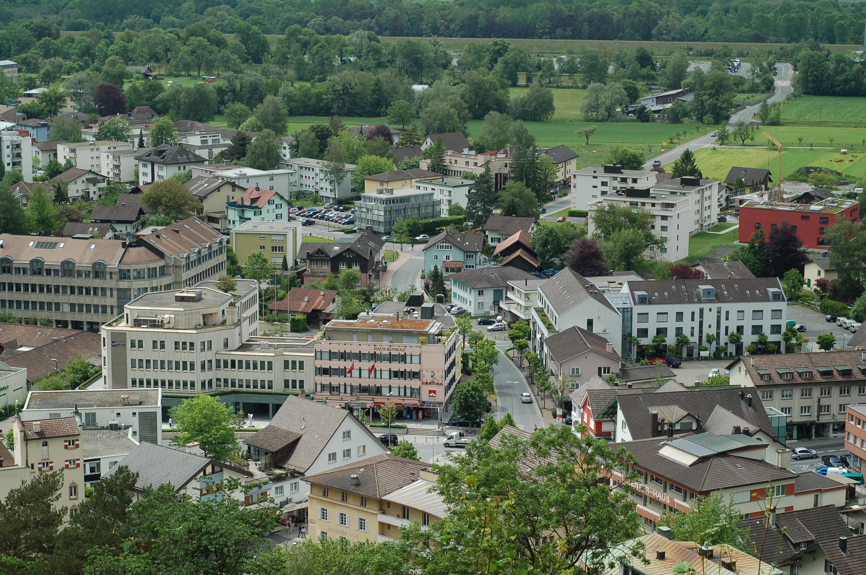 Vaduz city