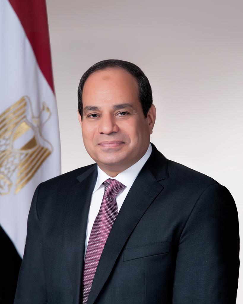 Er 65-år gammel 172 cm høj Abdel Fattah el-Sisi i 2020