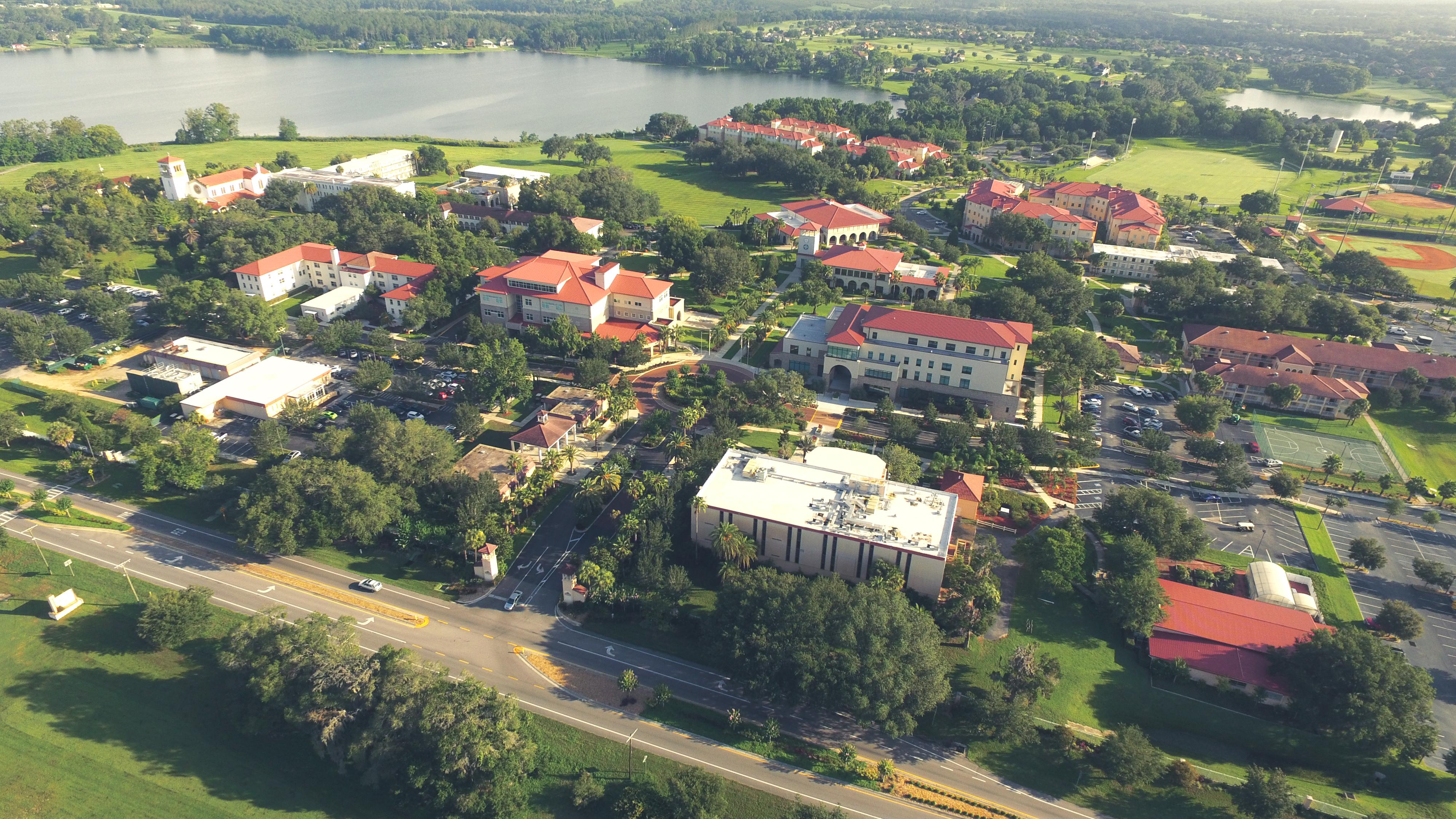 Saint Leo University Campus Map.File Aerial View Of The Main Saint Leo University Campus Jpg Wikipedia