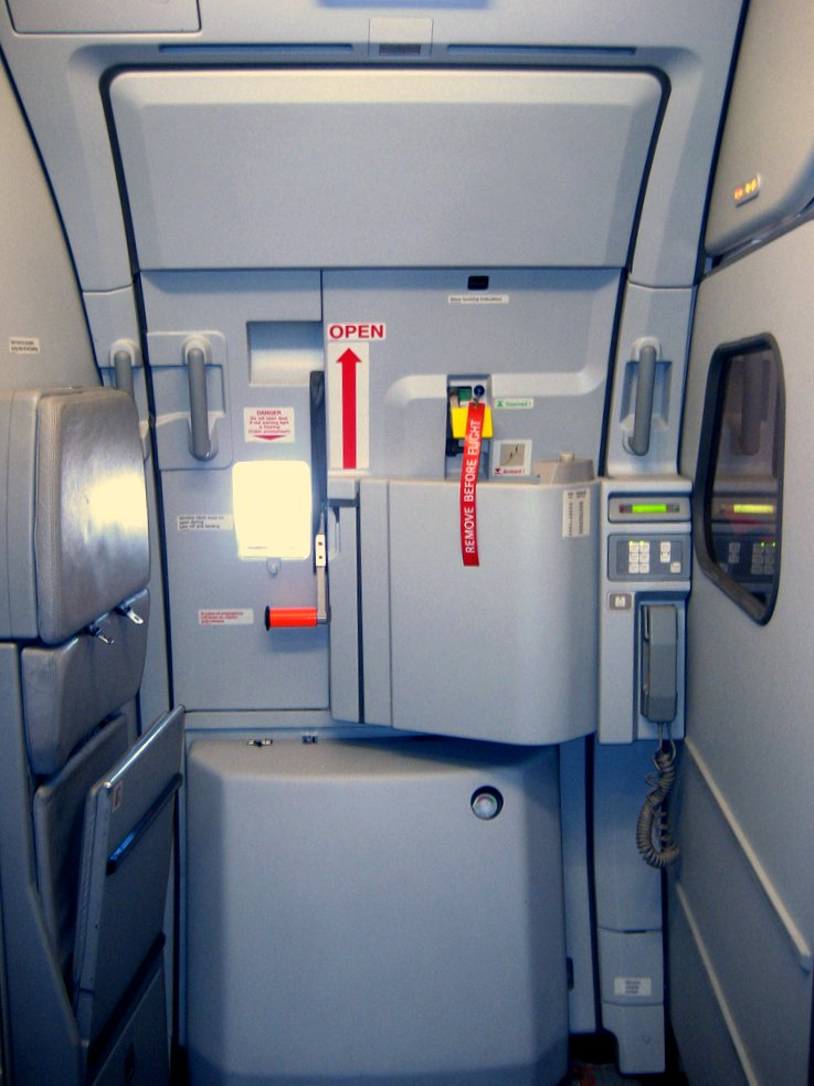 ://upload.wikimedia.org/wikipedi.../commons/7/77/Airbus_A319_Door.jpg ... & Aircraft Door Mechanisms - Airliners.net Pezcame.Com