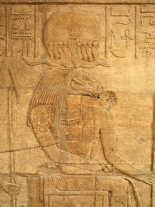 Relief of Amun-Ra, temple of Amun at Kawa, Ancient Nubia