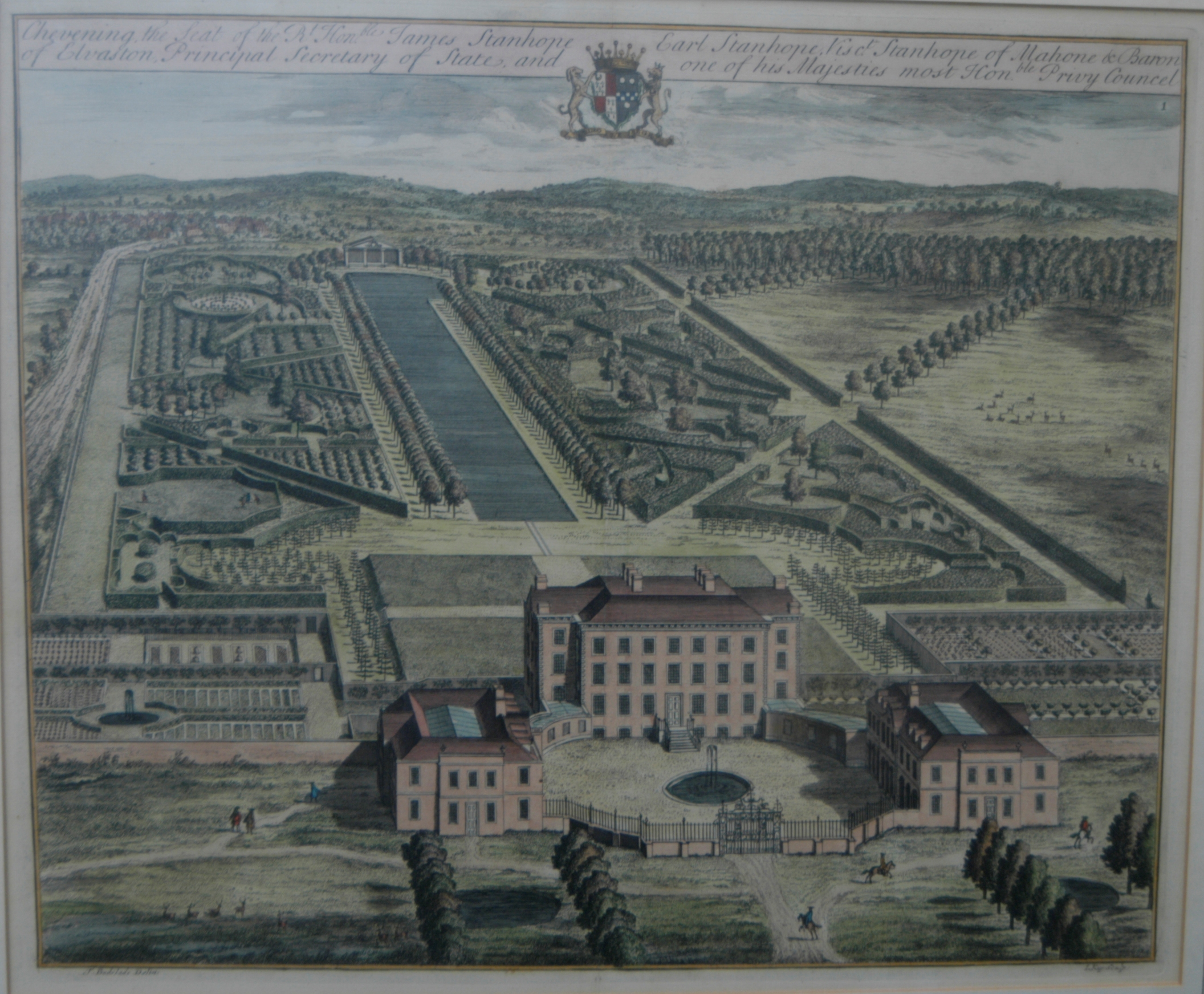 File:An engraving of Chevening by Johannes Kip (d.1722) after Thomas