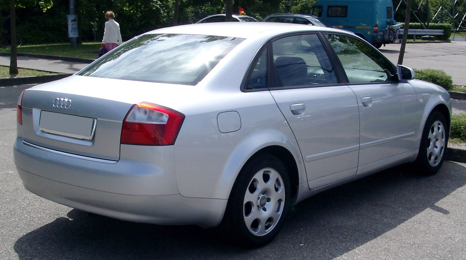 File Audi A4 B6 Rear 20080612 Jpg Wikimedia Commons
