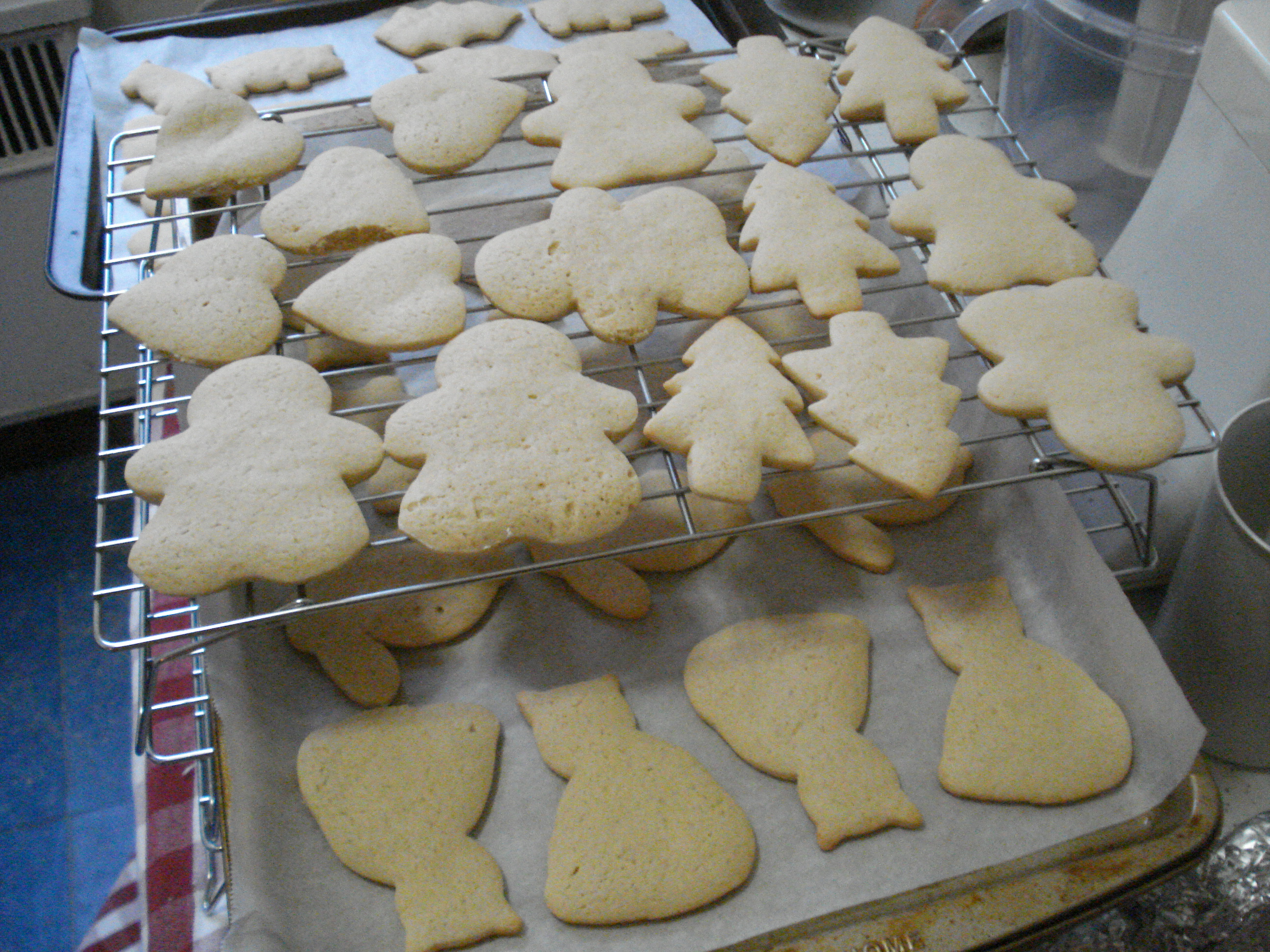 Sugar Cookies On a Tray
