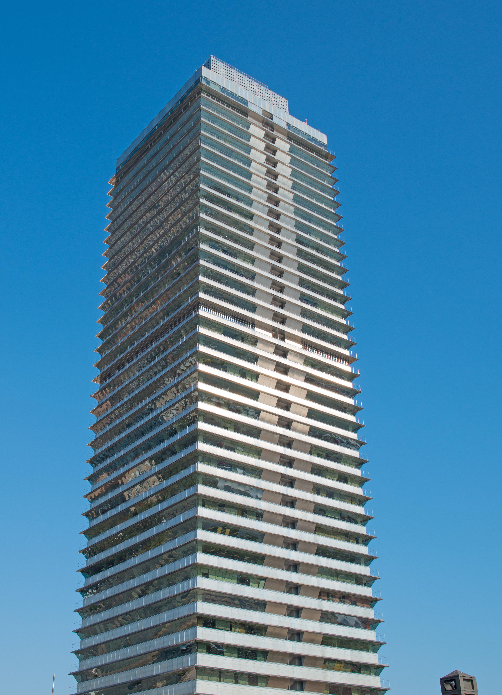 Offices in [[Torre Mapfre]], Barcelona