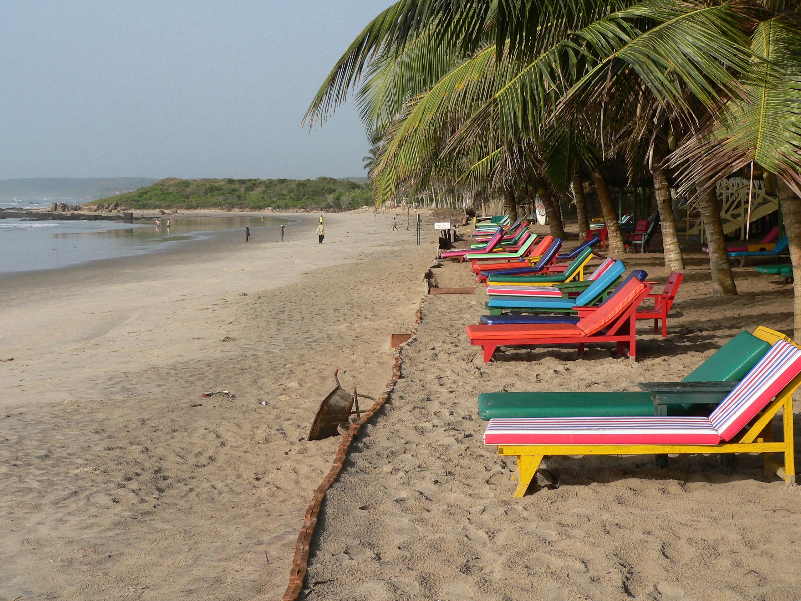 Filebeach Resort And Seaside Resort Setting In Central Region Ghana Jpg