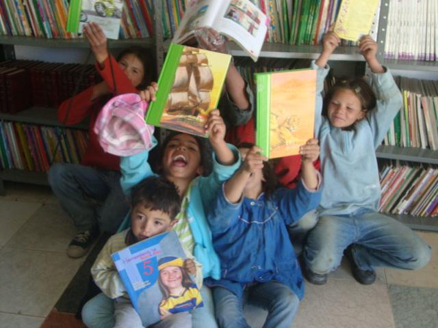 Resultado de imagen de biblioteca escolar