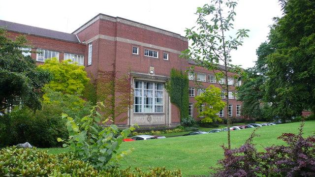 Birmingham University Chemical Engineering Building