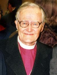Bishop Lesslie Newbigin in 1996
