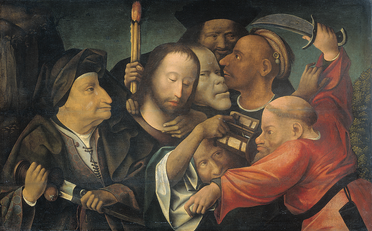 Image Result For Judas Betrays Jesus