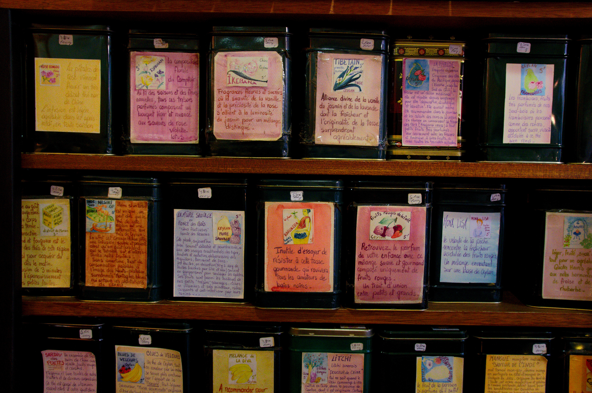 Melange Orange Et Rose file:boxes of tea in a french shop - wikimedia commons