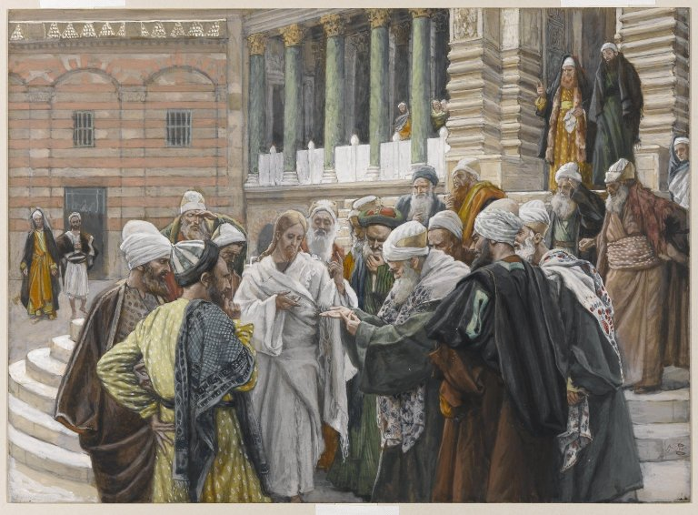 File:Brooklyn Museum - The Tribute Money (Le denier de César) - James Tissot.jpg