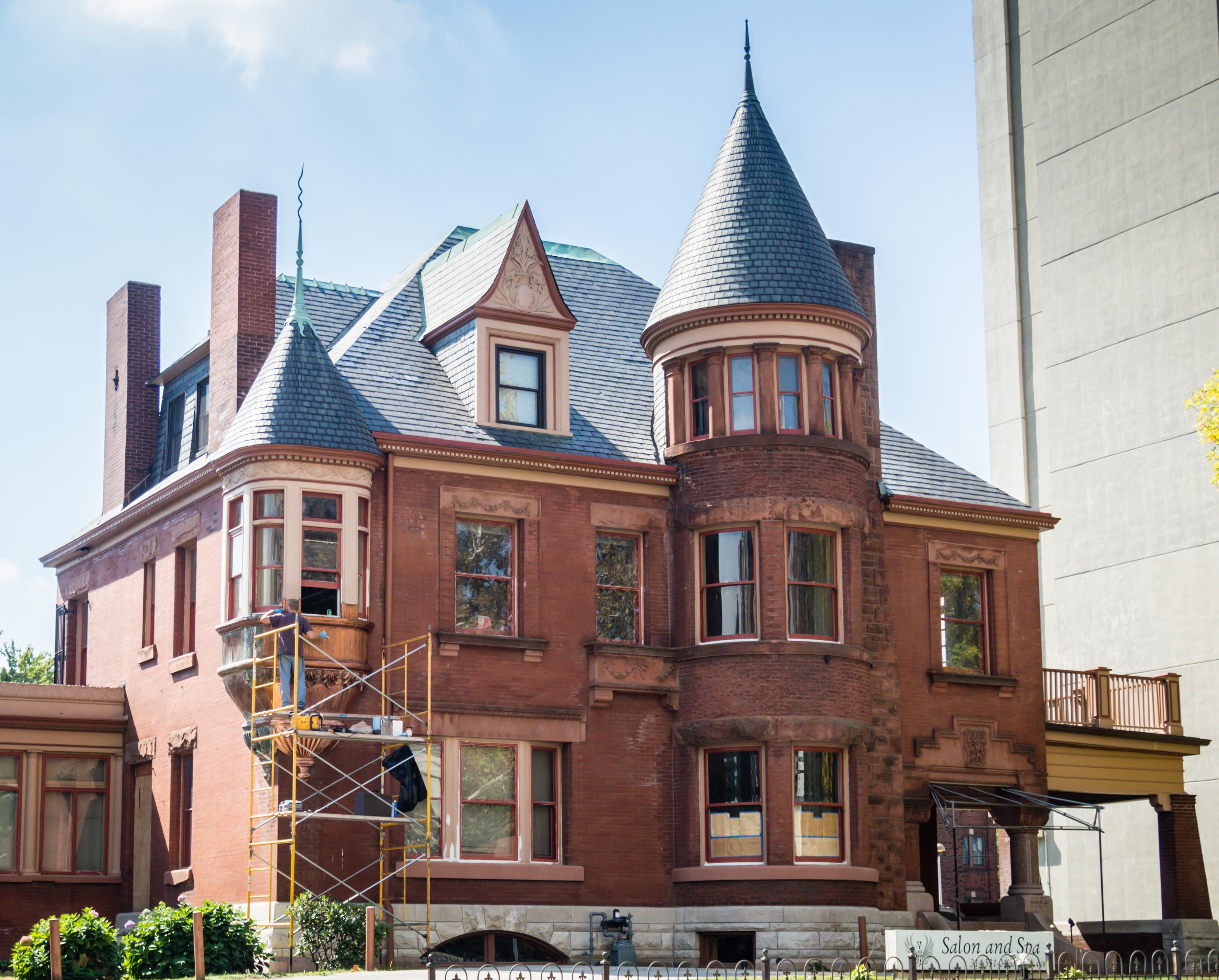 Central West End City Apartments Historic Building