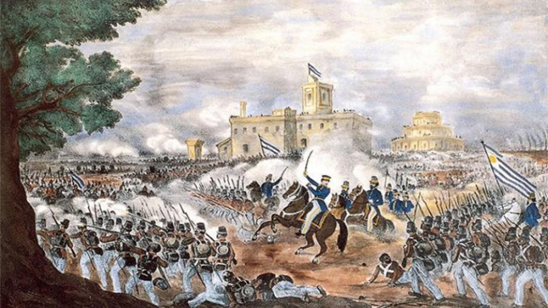 The Battle of Caseros, 1852