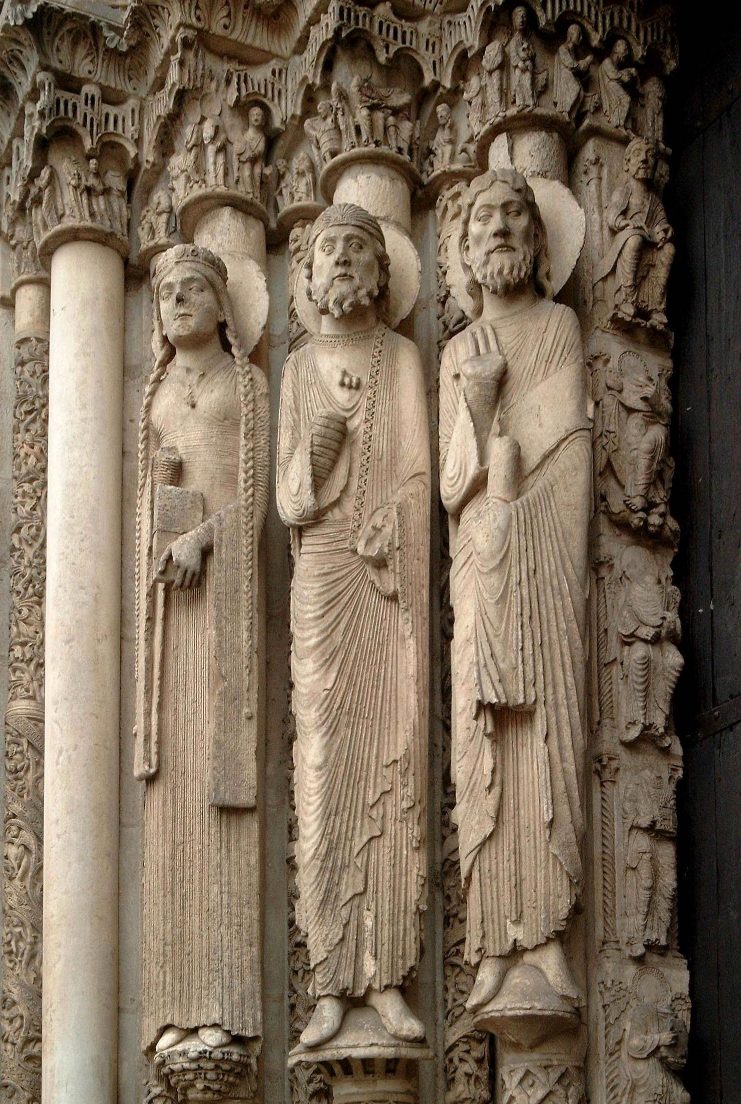 Romanesque art and concurrent development of