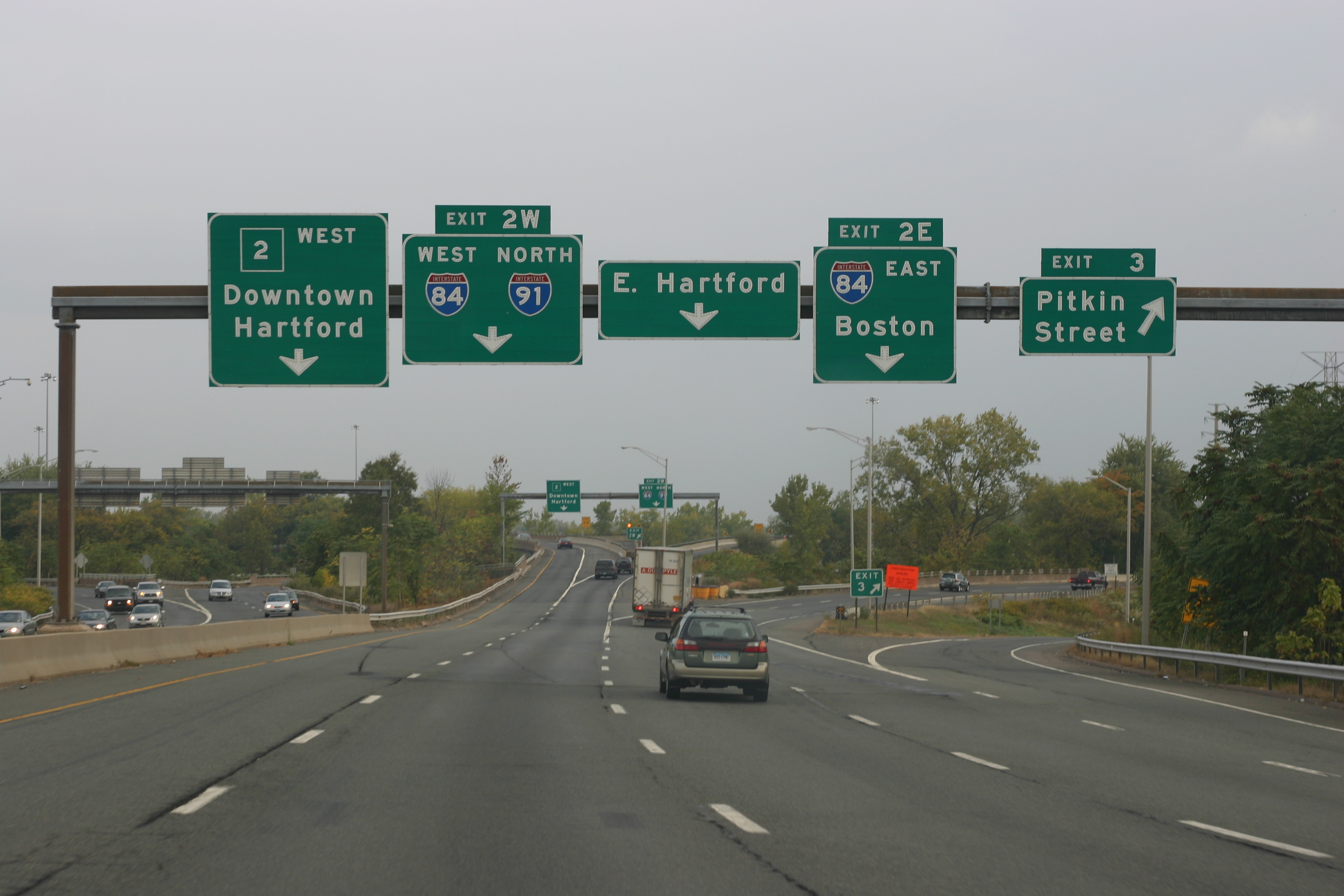 Route 84 westbound