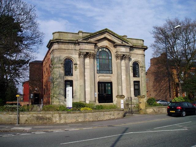 File Converted Church On Edge Lane Stretford Geograph
