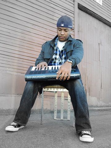 Cory Lavel And His Midi Keyboard