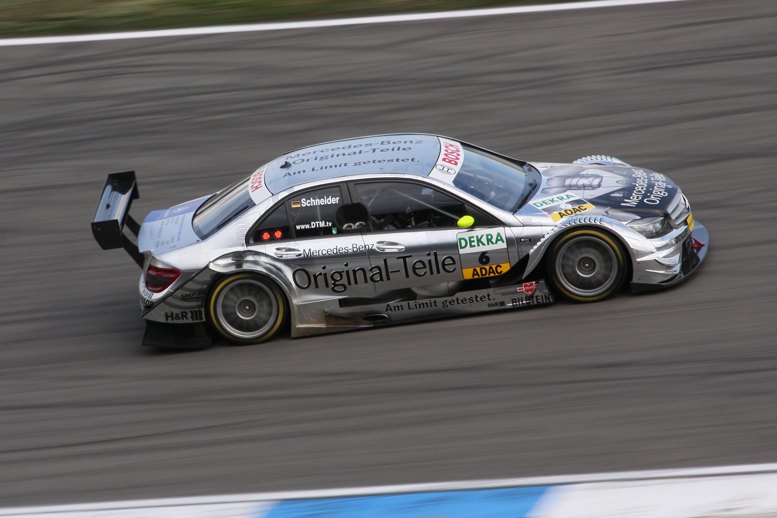 Mercedes Race Car