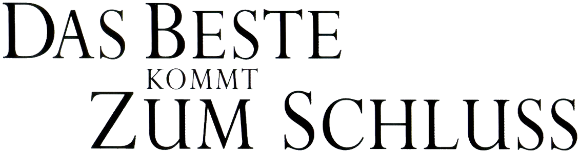 Das Beste Kommt Zum Schluss Stream Deutsch
