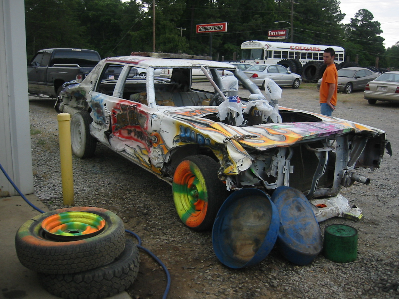 demo derby car pictures